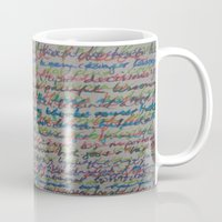 Handwriting On The Wall Mug