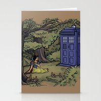 Escape from the Dark Forest Stationery Cards