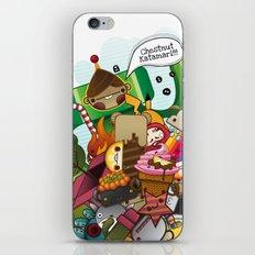 Chestnut Katamari iPhone & iPod Skin