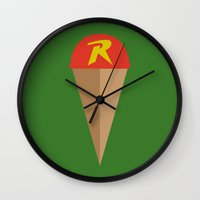 Robin's Road Wall Clock