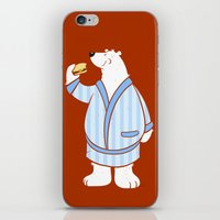 Burger Bear iPhone & iPod Skin