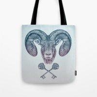 The Ram (Aries) Tote Bag
