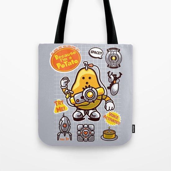 Mrs. Potato GLADos Tote Bag