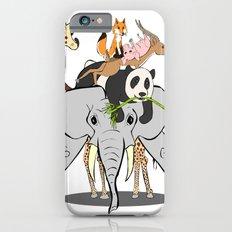 Animal Pile-Up iPhone 6s Slim Case
