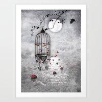 Le Vent Nous Portera ...… Art Print