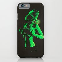 Strange girl iPhone 6 Slim Case