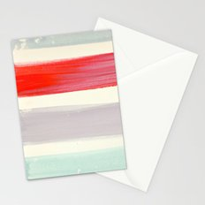 summer stripes Stationery Cards