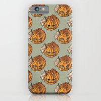 trick or treat? - pattern iPhone 6 Slim Case