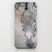 iPhone & iPod Case featuring zebra by Marianna Tankelevich