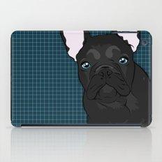 Black Frenchie iPad Case