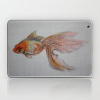 Goldfish Pond (close up #9) Laptop & iPad Skin