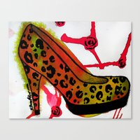 Chic Heel Canvas Print