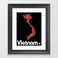 Vietnam, Come For Peace Framed Art Print