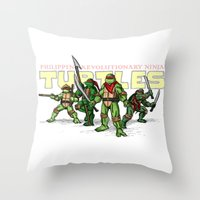Philippine Revolutionary… Throw Pillow