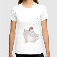 Ringo Smallz and his Mother Womens Fitted Tee White SMALL