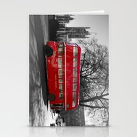 Red Routemaster bus Stationery Cards