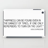Happiness Is Always Some… iPad Case
