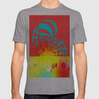 Twisted Invert Mens Fitted Tee Athletic Grey SMALL