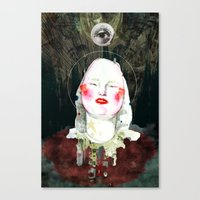 SAINT Canvas Print