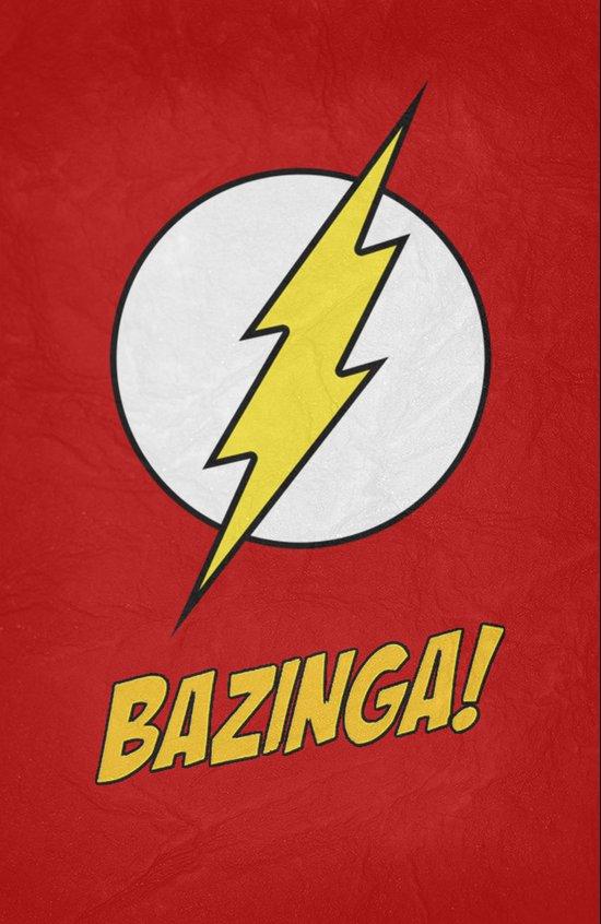 Bazinga! Poster 01 Art Print