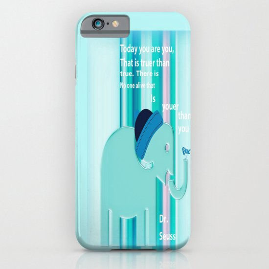 Dr. Seuss Quote iPhone & iPod Case