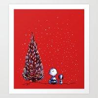 Merry Christmas Charlie … Art Print