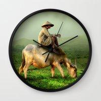 Resting Shepherd Wall Clock
