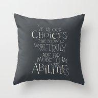 Harry Potter - Albus Dum… Throw Pillow