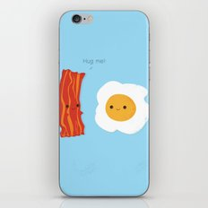 Would you be the bacon to my eggs? iPhone & iPod Skin