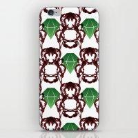Emeralds & Demons [WHITE] iPhone & iPod Skin