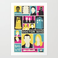 Doctor Who - The Ninth D… Art Print