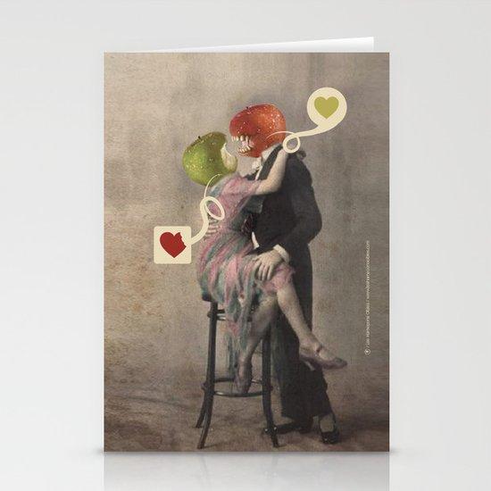 Loving Apple Stationery Card