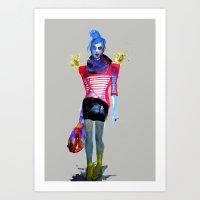 Models Ink 13 Art Print