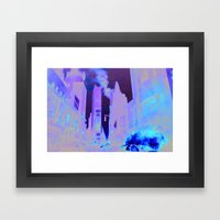 Deep Infection Framed Art Print
