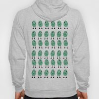 Many Green Monsters  Hoody