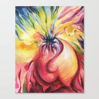 Abstract Stress Canvas Print