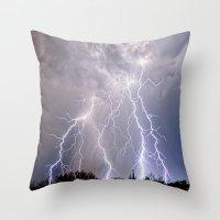 Monsoon Jewel of the Night Throw Pillow