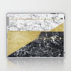 marble hOurglass Laptop & iPad Skin