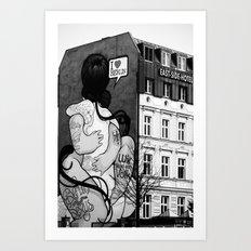 Untitled 3 - Berlin Art Print