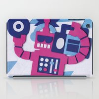 Stereo Bot iPad Case