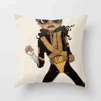 Dangerous Throw Pillow