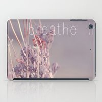 Breathe In iPad Case