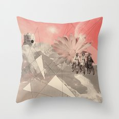 Les Femmes Throw Pillow