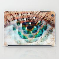 Green Eyes Hypnotize  iPad Case