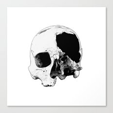 In Thee Dark We Live Canvas Print