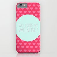 Will you be my valentine iPhone 6 Slim Case