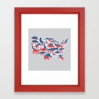 Battleground Framed Art Print