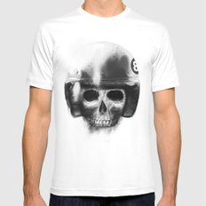 death racer Mens Fitted Tee SMALL White