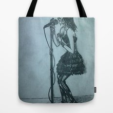 Belt It Out Tote Bag