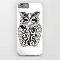 iPhone & iPod Case featuring YMMY OWL by Maureen Placente